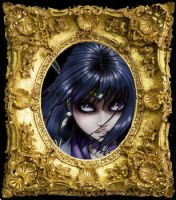 Sailor Saturn framed by AmberCherryBomb