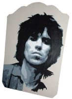 Keith Richards by LostProperty