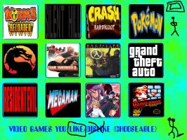 My 12 Top Favorite Video Game Series by Knowe386