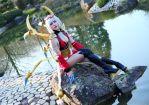 Blood Moon Elise: I have... refined tastes... by MowkyCosplay