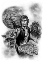 Star Wars - Han Solo by Valzonline