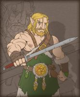 Link the Barbarian by AIBryce