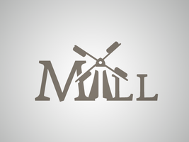 The Mill logo by spryagency