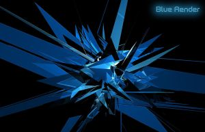 Blue Render by Wycis
