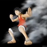 Luffy: Second Gear by ziwu
