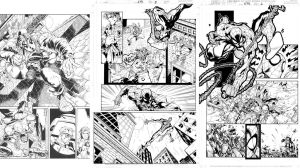 SPider-Man pages by TimTownsend