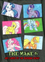 ATC: The Mane 6 by TheBurningDonut