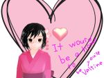 would you be my Valentine Japan by Ask-nyotalia-girls
