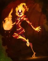 female Heatblast by zgul-osr1113