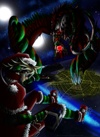 Christmas trip of a master and his elxa by ShadoDoragon