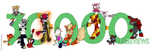 30000 Pageviews by fire-ice-n-lightning