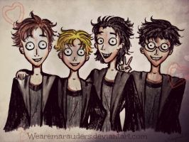 They are Marauders...and Valentines' drawing near! by WeAreMarauders