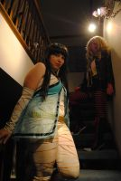 Cleo+Demona: Where's the Cat by LadydragonQueen