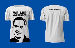 We Are Gw Banget T-Shirt White by martinharris