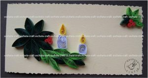 Quilling - X-Mas Card 3 by Eti-chan