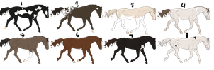 -CLOSED-Horse-adopts by StarlitStables