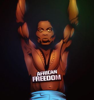 Fela: Freedom Fighter! by bmqraven