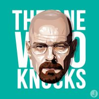 The One Who Knocks. by scribbidy