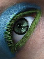 Colourful eye by Tamile