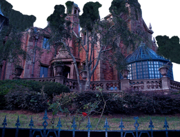 Haunted Mansion Bkg removed by WDWParksGal-Stock