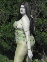 Poison Ivy in Color Accent by Wiccanslyr