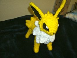 Jolteon Amigurumi by PrincessPegasister
