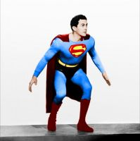 Kirk Alyn as Superman by Anongamer