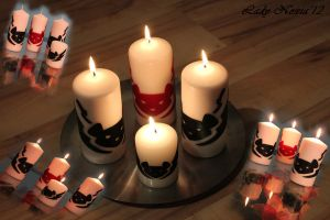 Biker Mice from Mars Candles by LadyNoxia