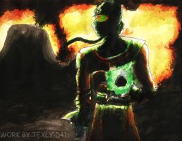 ermac watercolor by WinterSpectrum