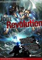 JOIN THE REVOLUTION by totmoartsstudio2