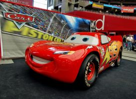 Lightning McQueen in the Flesh by Swanee3
