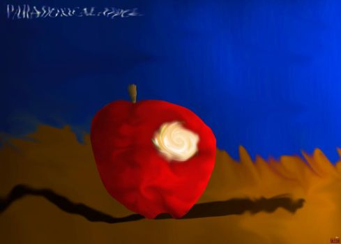 Paradoxical Apple by akkfigueira