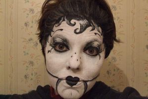 dark doll by mpfacepainting
