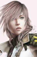 Lightning portrait by vchen79