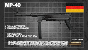 G and M armory MP40 by h311Man