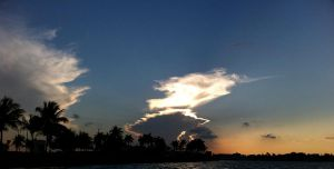 Miami Sunset in the Winter by Amy2121