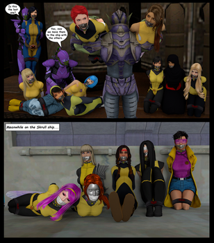 Gift: New Mutants, New Invasion! by Gadreel88