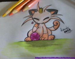 .:meowth:. by shadowandtikalfan
