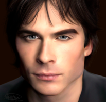 Ian Somerhalder by MarinaSchiffer