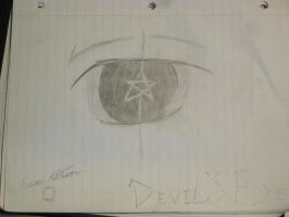 Devils eye by E404Corruption