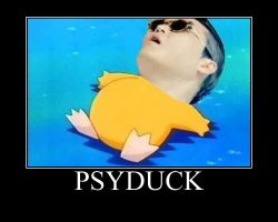 PSYduck by APH-Alfred-F-Jones