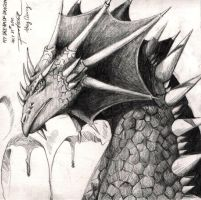 MY DREAM OF DRAGON by Painera