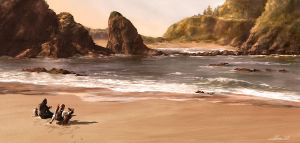 pirates vs. ninjas... naaah by hakubaikou