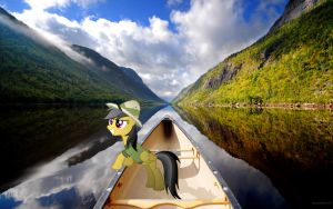 Daring Do - Canoe by normanb88