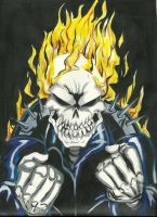 Ghost Rider by papinucho