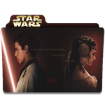 Star Wars: Star Crossed Lovers Folder Icon by RainGirl2009