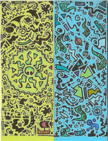 abstract Octo bic sticker by ushiyasha