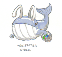 The Easter Whale by ozwalled