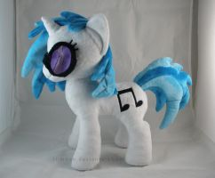 Vinyl Scratch Plush by LiLMoon
