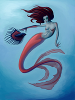 Mermaid by Countess-Studios